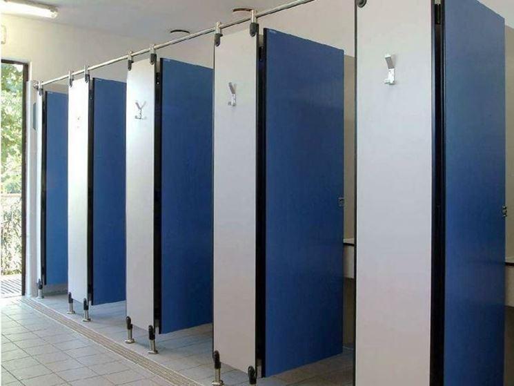 Migliori pareti divisorie per bagni le pareti divisorie - Porte per bagni ...