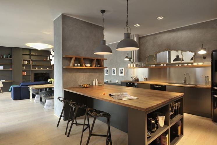 pareti divisorie cucina soggiorno - Le Pareti divisorie - Pareti ...
