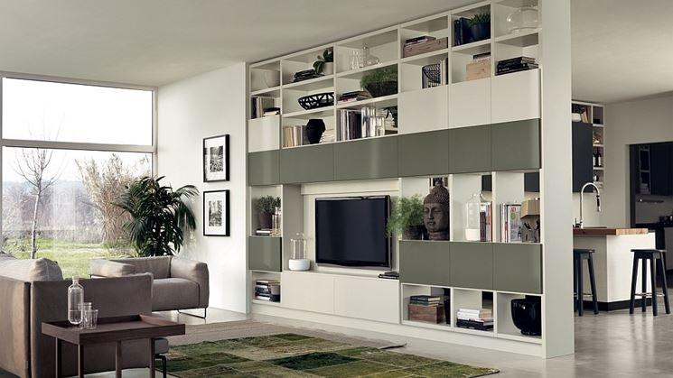 pareti divisorie cucina soggiorno - Le Pareti divisorie - Pareti divisorie