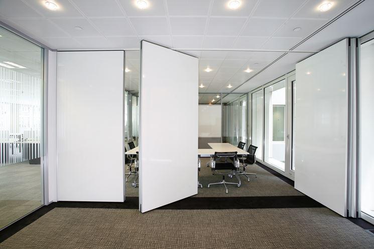 Pareti mobili modelli e materiali le pareti divisorie - Parete divisoria mobile ...