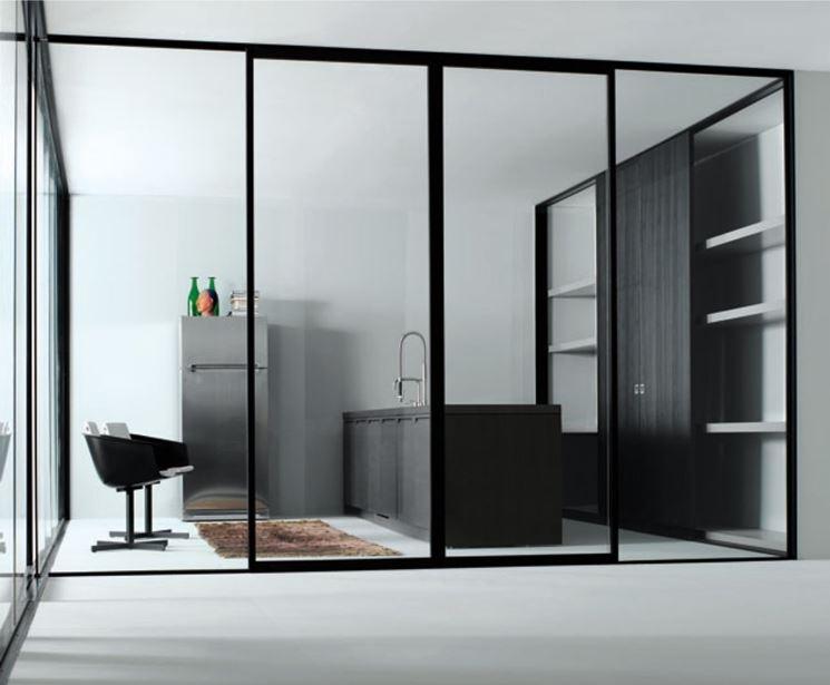 Pareti mobili, modelli e materiali   le pareti divisorie   modelli ...