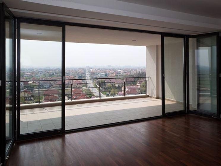 Prezzi vetrate scorrevoli le pareti divisorie quanto - Finestre scorrevoli in vetro ...