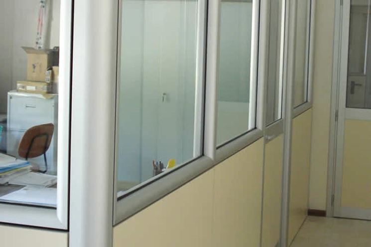 Prezzo pareti divisorie interne le pareti divisorie for Divisori mobili per ufficio