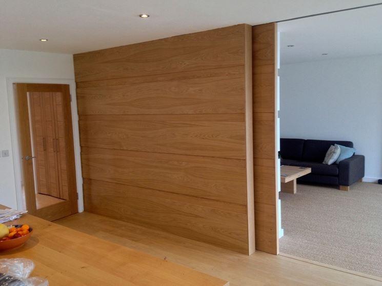 Prezzo pareti divisorie scorrevoli le pareti divisorie - Parete divisoria in legno per interni ...