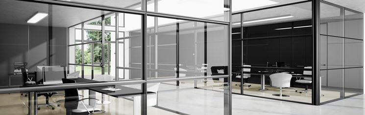 Pareti In Vetro In Offerta : Prezzo pareti divisorie uffici le