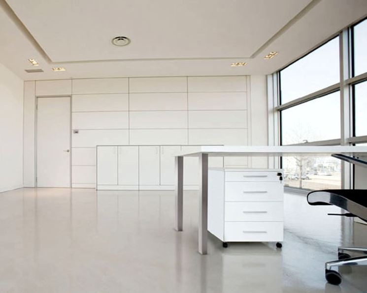 parete ufficio per separare due ambienti