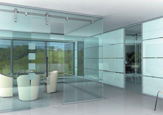 realizzare pareti vetrate per interni le pareti