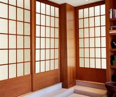 Tipologie di pareti scorrevoli giapponesi le pareti for Pareti giapponesi