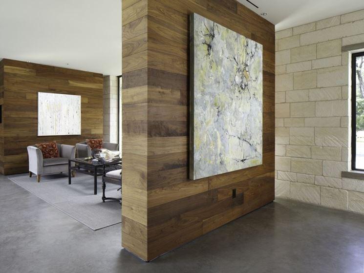 Famoso Vantaggi pareti divisorie in legno - Le Pareti divisorie - i  IZ32