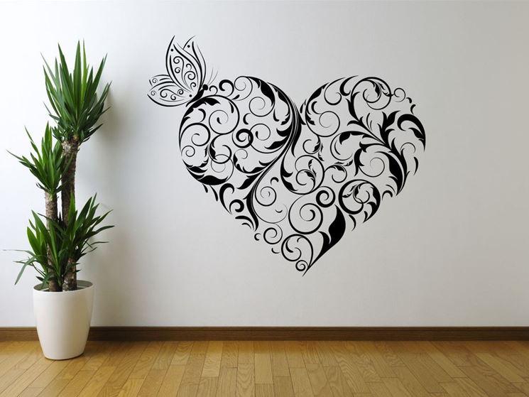 Applicare lo stencil per pareti le pareti applicare for Disegni per pareti
