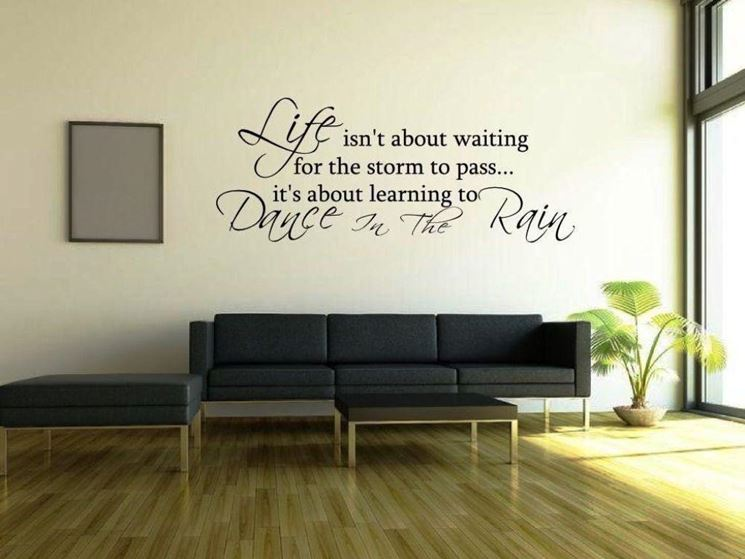 stencil per pareti : ... lo stencil per pareti - Le Pareti - Applicare stencil per pareti