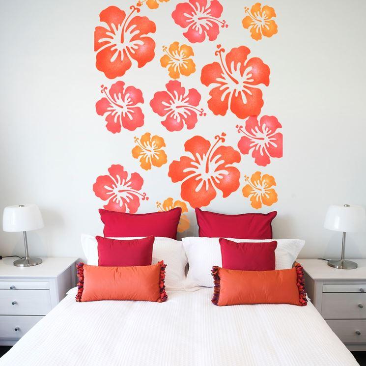 applicare lo stencil per pareti le pareti applicare