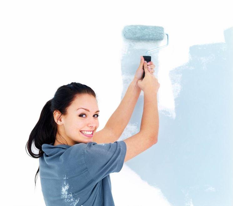 pittura delle pareti