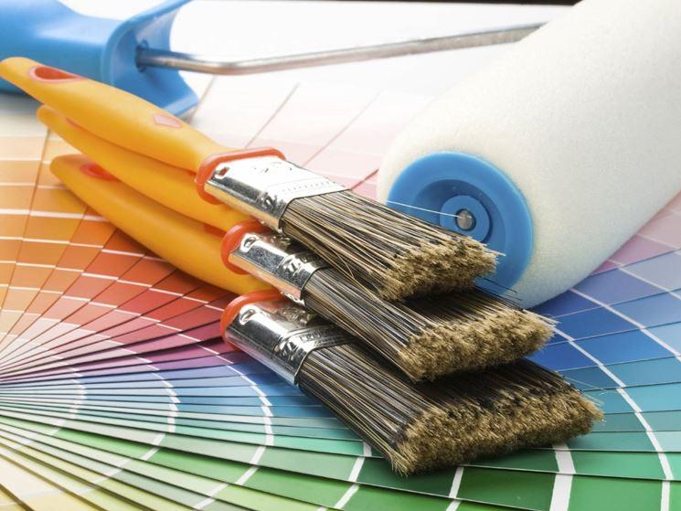 materiali per pittura