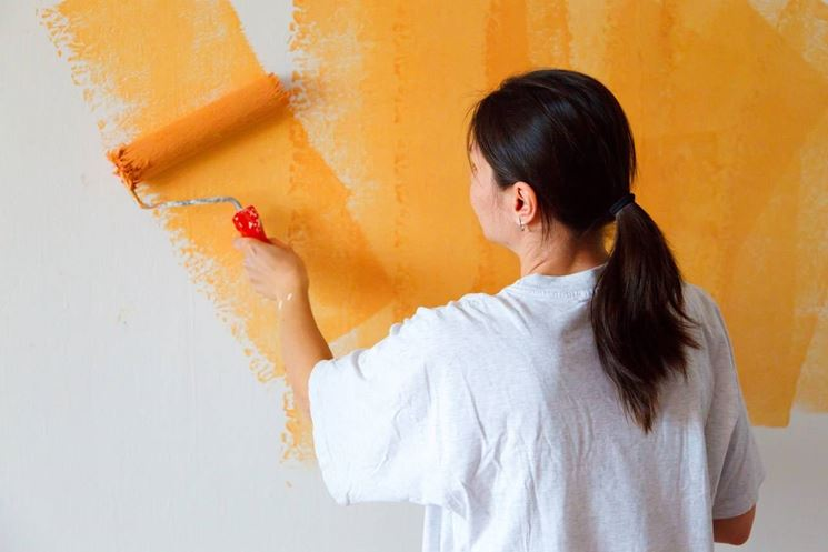 pittura arancio