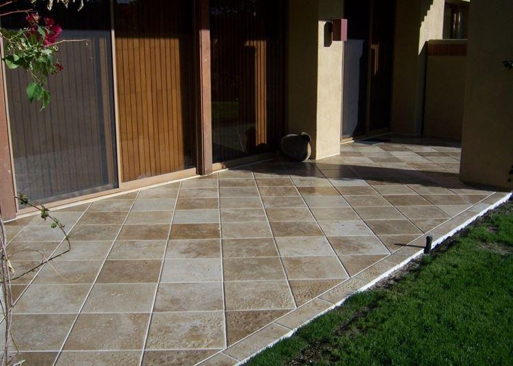 Migliori rivestimenti da esterno le pareti - Gres porcellanato da esterno ...