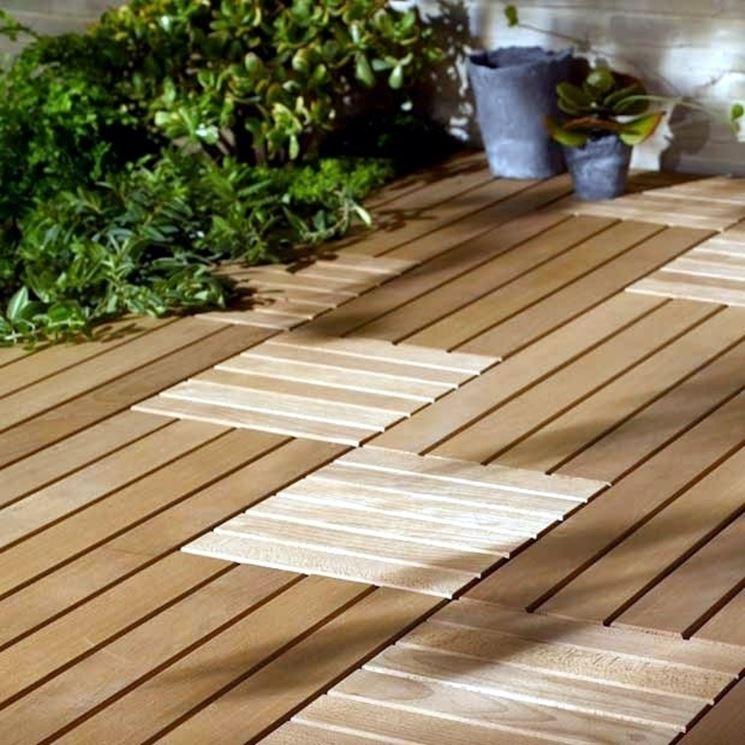 Esempio di pavimentazione in legno