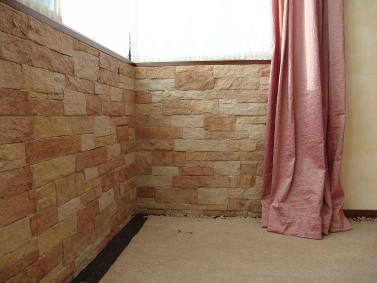 Pannello in finta pietra - Giacomello