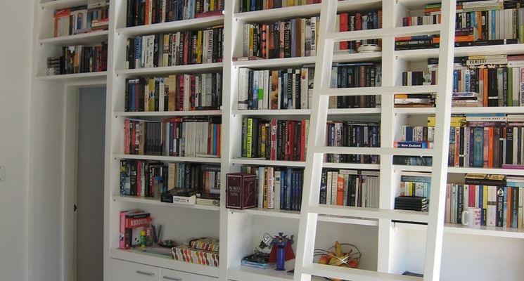 Parete attrezzata libreria