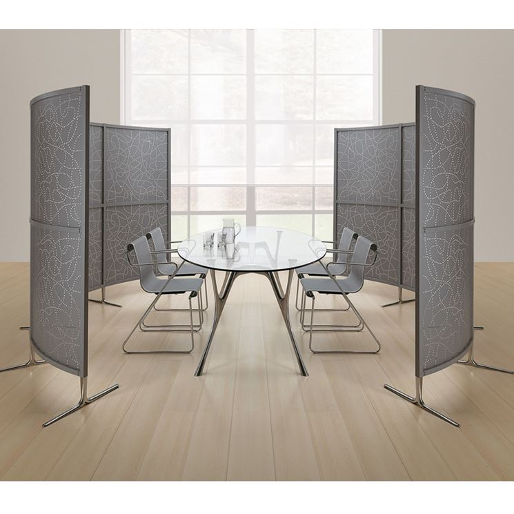 ... divisorie mobili - Le Pareti - impiego delle pareti divisorie mobili