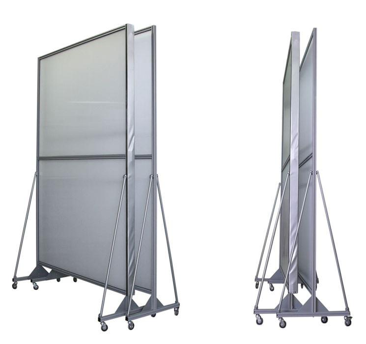 Pareti Divisorie Mobili Su Ruote : Pareti divisorie mobili le impiego delle