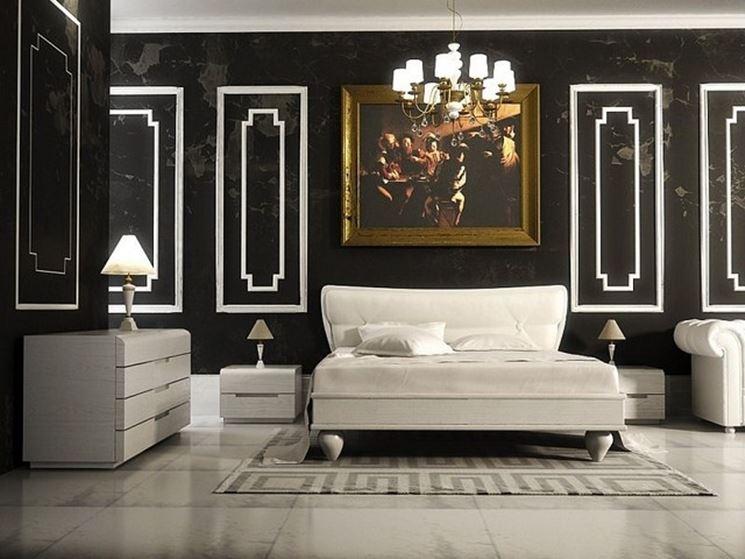 esempio di parete scura