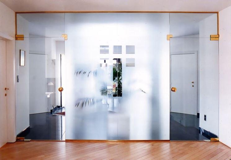 Realizzare pareti in vetro - Le Pareti - Pareti in vetro