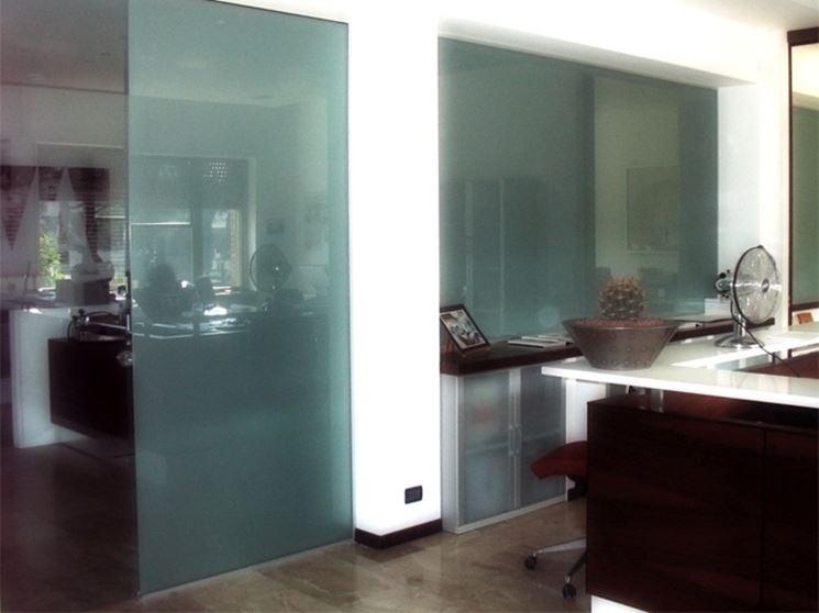 Pareti Di Vetro Prezzi : Pareti divisorie in vetro per interni casa prezzi pareti