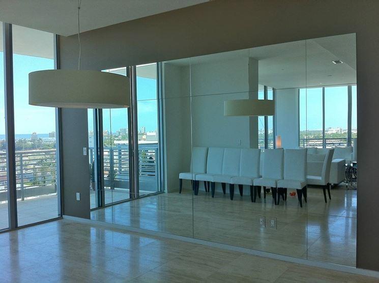 Realizzare una parete a specchio le pareti come - Ikea specchi grandi ...