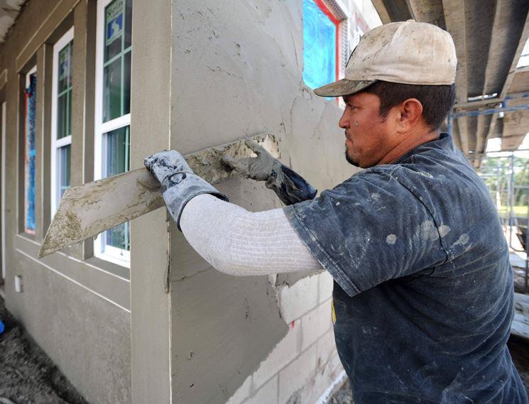 stesura stucco