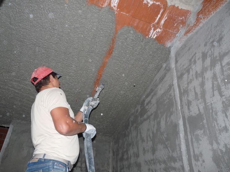 Intonacatura del soffitto