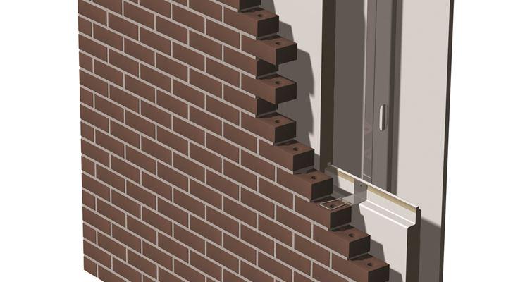 Struttura facciata ventilata