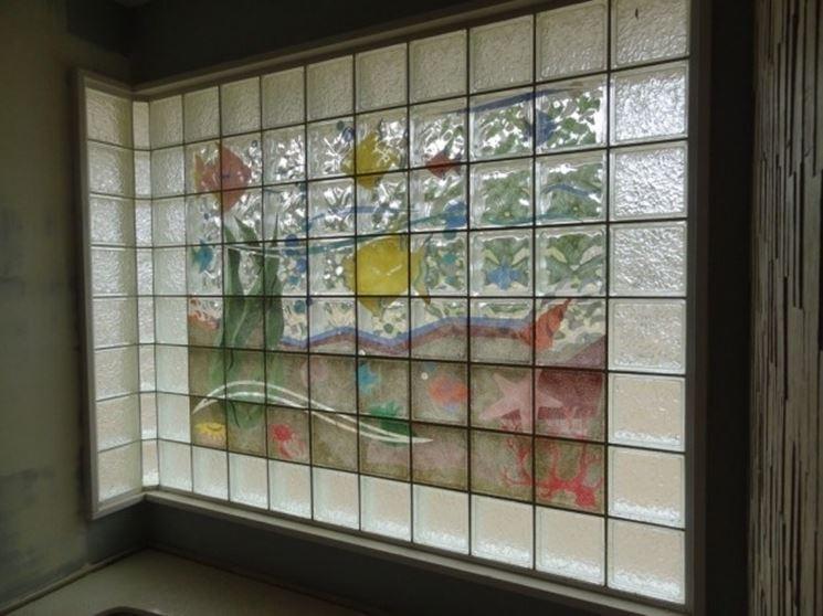 pareti divisorie in vetromattoni : Vantaggi pareti vetrocemento - Le Pareti - Vantaggi delle pareti in ...
