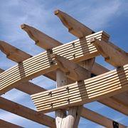 Travi legno massiccio