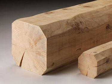 Trave in legno massiccio