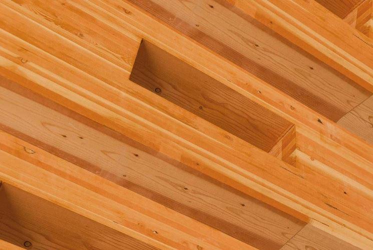 legno lamellato