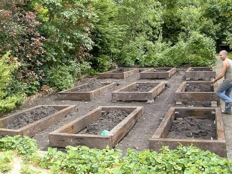 preparazione del terreno per l'orto di settembre