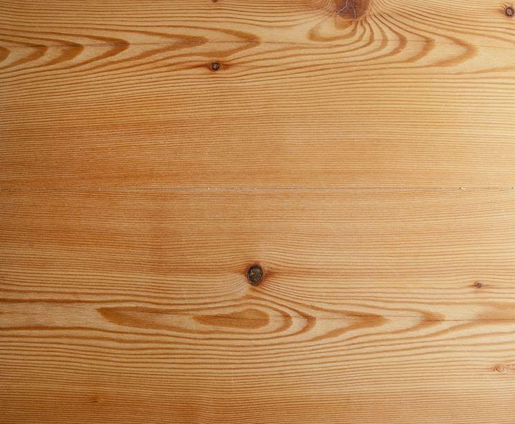 Esempio di legname di abete rosso