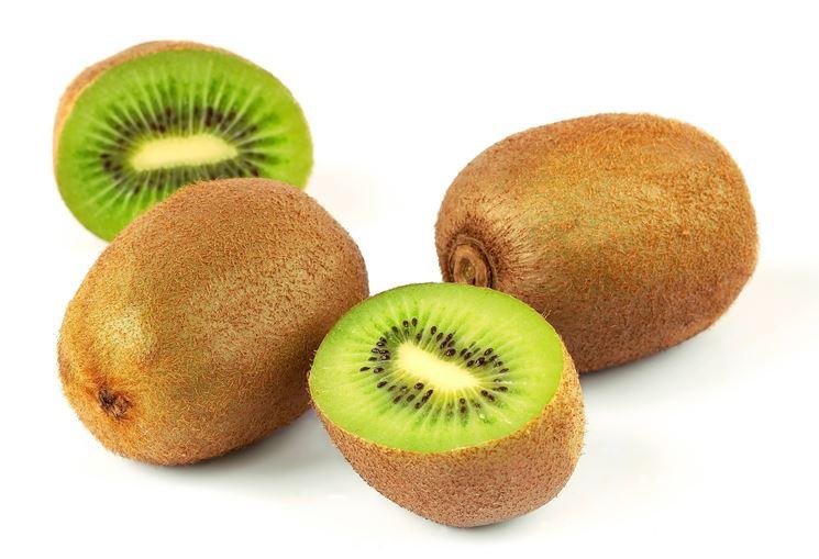 I frutti della pianta di kiwi