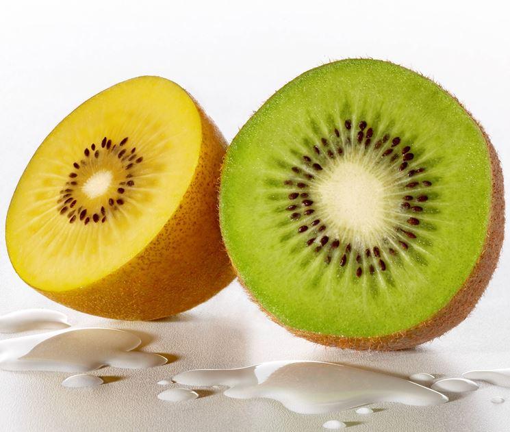 La specie gold e la specie verde del kiwi