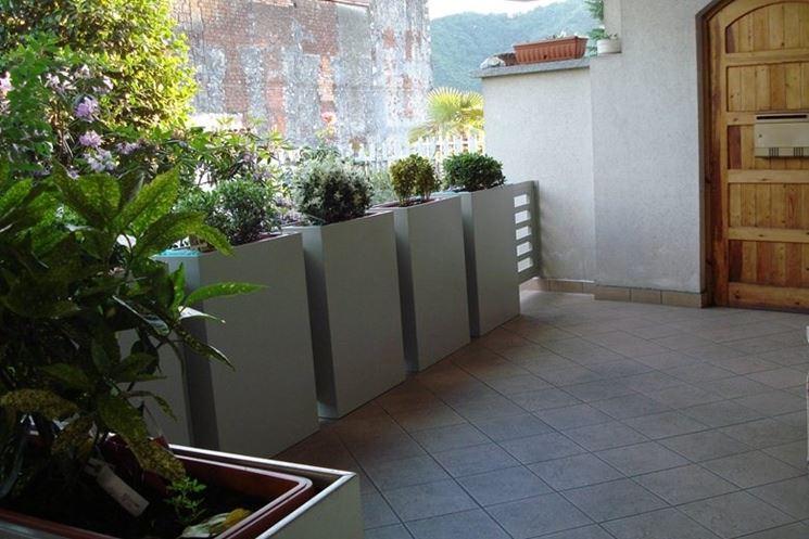 Come scegliere i vasi da terrazzo - Scelta dei Vasi - I vasi per il terrazzo