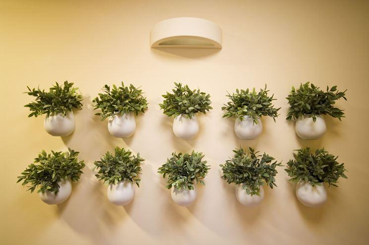 vasi da parete