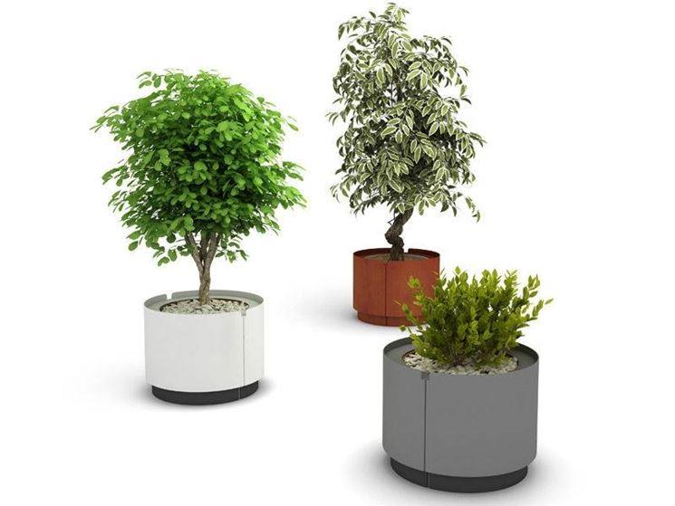 vasi piante esterno idee per il design della casa