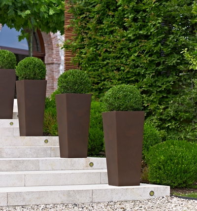 Scegliere i vasi giardino plastica scelta dei vasi - Vasi da esterno design ...