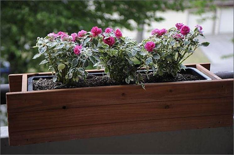 Ultimi modelli di fioriere in legno