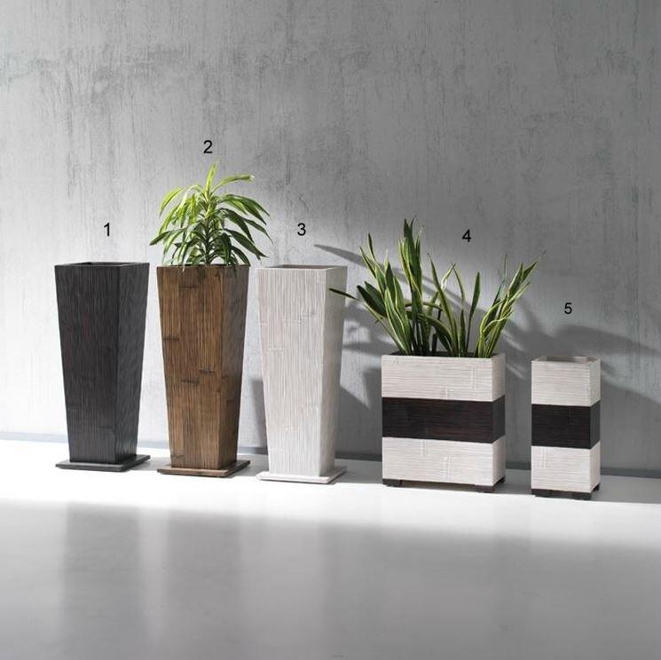 Vasi per esterno da design scelta dei vasi i - Vasi piante design ...